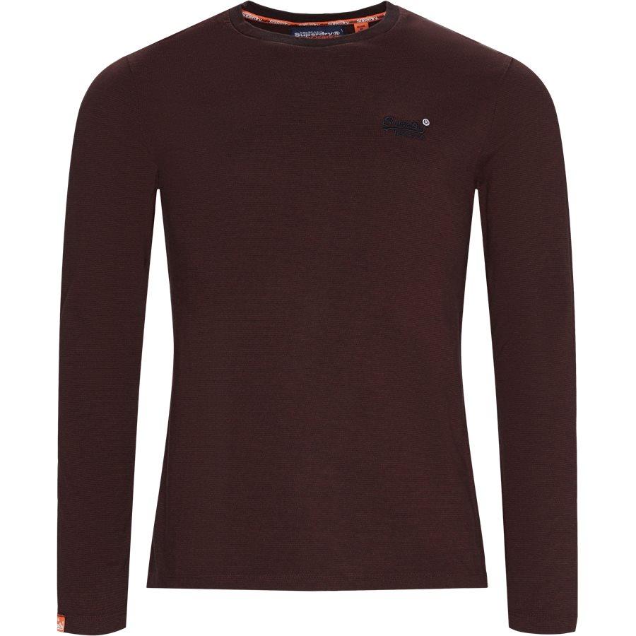M6000 - M6000 LS Tee - T-shirts - Regular - BORDEAUX R6R - 1